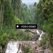 Living Panorama Picture (5) with floating waterfall and river