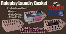 WoW Girl's Laundry Basket