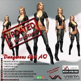 DISCOUNTED! VISTA ANIMATION-DANGEROUS GIRL AO
