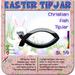 Christian Fish TipJar - Easter