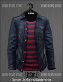 ::Fe Style:: DEMO - Denim Jacket w/Shirt