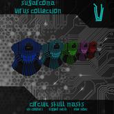 [SC] Circuit Skull Masks