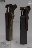 AZOURY - Chromatics - Ballet Heels Shoe (Friar Brown)