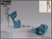 AZOURY - Fetish Hight-Heeled Shoes (Pacid Blue)