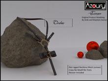 AZOURY - Necklace Essence (Carbon )