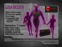 Lich Rezzer Gen 2
