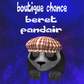 panda attachemen t beret