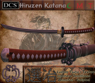 [-25% SALE] HIRUZEN KATANA | FULLY SCRIPTED