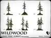 Wildwood giant  pine forest base mod all 1