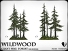 Wildwood giant  pine forest base mod all 2