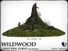 Wildwood giant  pine forest  base mod stump 1