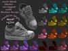 Bad Girl Mesh Skate/Sneakers/Shoes Stars 16 Pairs Fat Pack