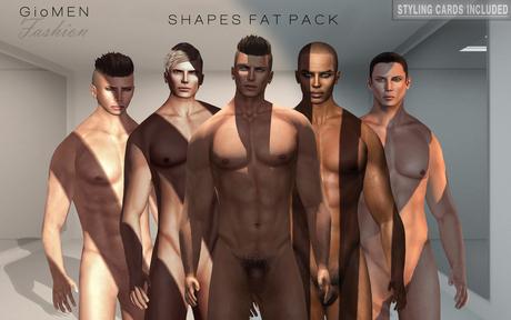 G I O M E N - Shapes *FAT PACK*