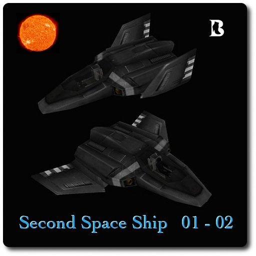 Blackburns Flying Second Space Ships 01-02