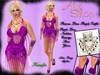 *Aly's Shop* Precious Diva Purple Outfit