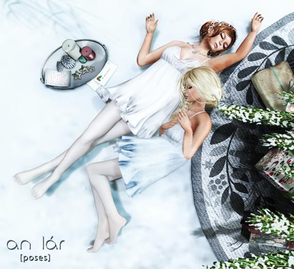 an lar [poses] Snow Angels