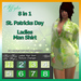 Iffyta Ladies St. Patricks Day Man Shirt