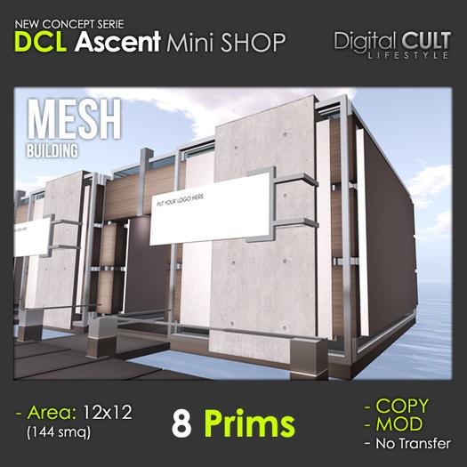 DCL ASCENT Mini Shop - 8 PRIMS
