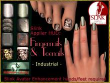 Bliensen + MaiTai - Slink Nail Applier HUD - nailpolish for toenails and fingernails - Industrial