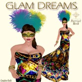 "Glam Dreams "" Mardi Gras "" Outfit"