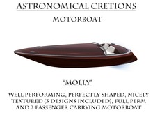 AC HOLLY  MOTORBOAT BOXED III
