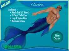 =LunaSea= Merman Outfit - Azure