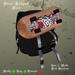 Skater Backpack Black