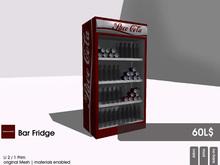22769 ~ [bauwerk] Beergarden Container Bar Fridge