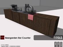 22769 ~ [bauwerk] Beergarden Container Bar Counter