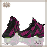 .:Ecce Bellus:. TC's Basketball Shoe--Pink & Green