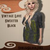 :SS: Freebie Vintage Love Sweater Black Mesh