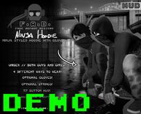 F.A.D. // Ninja Hoodie DEMO