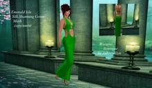 Emerald Isle Mesh Gown