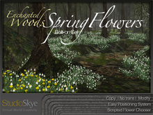 Enchanted Woods SPRING FLOWERS Bolt-On Set