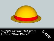 Luffy's Straw Hat - One Piece