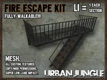 FIRE ESCAPE MESH KIT - URBAN JUNGLE