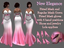 New Elegance - Fitted Mesh and Regular Mesh Complete Outfit DEMO