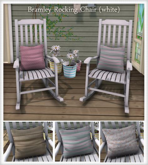 {what next} Bramley Rocking Chair (White)