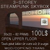 Domicile 30x20 3-storey Steampunk Skybox