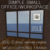 Domicile Simple Small Office/Workspace
