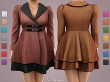 Mutresse . Gnus Coat - 14 Fabrics (Rigged Mesh)