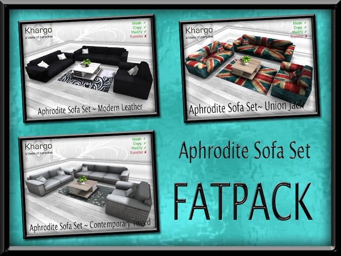 APHRODITE SOFA SET FATPACK ~ ANIMATION CHANGE