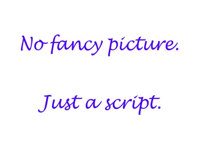 Animation on Attach Script