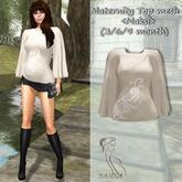 Maternity Top mesh<Maksi> (3/6/9 month) beige