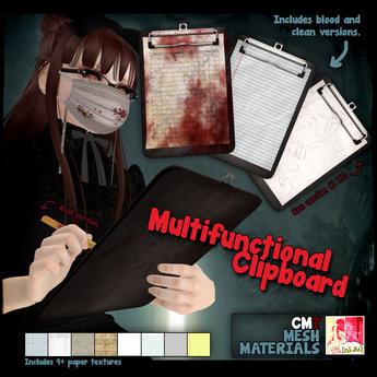 [ni.Ju] Multifunctional Clipboard