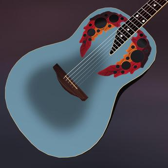 Ovation Adamas Roundback Inspired Acoustic Guitar
