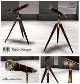 LISP - Mesh - Kepler Telescope with animations/poses