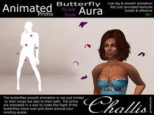 (Challis) Butterfly Aura - Purple Dusk (BOXED)