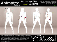 (Challis) Butterfly Aura - All Colours (BOXED)