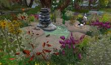 CJ Paradise Pond full of Springflowers + Animals c + m